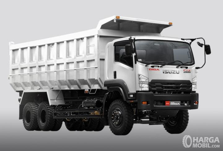 Isuzu Giga FVX 34 N HP 6.1 memiliki daya sebesar 285 HP