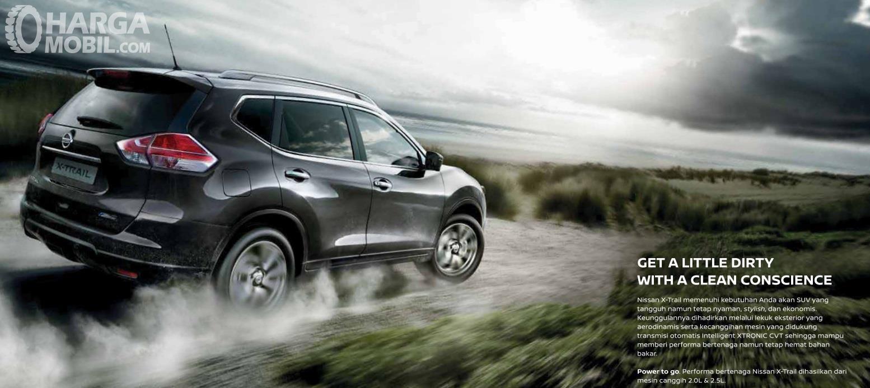 Nissan X-Trail 2.0 CVT menghadirkan fitur yang cukup lengkap