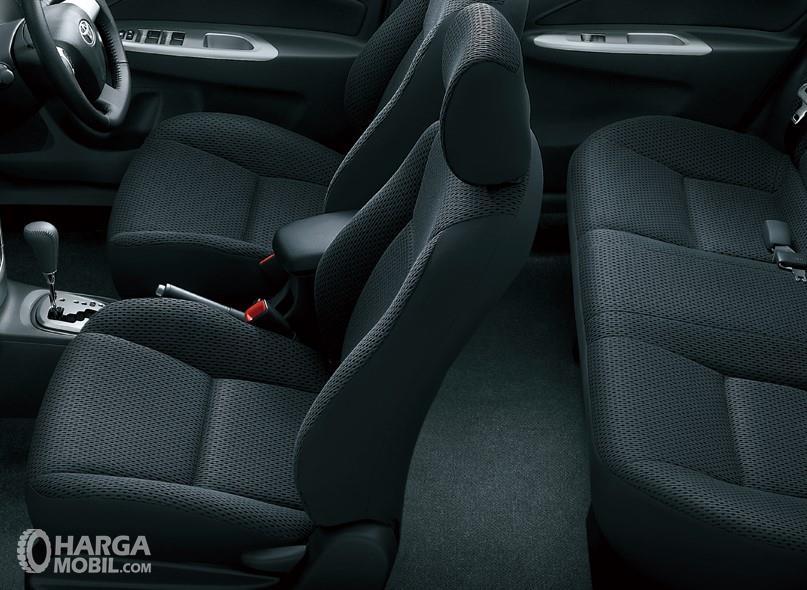 Foto Kursi Toyota Vios 2007 lebih mewah dari model sebelumnya