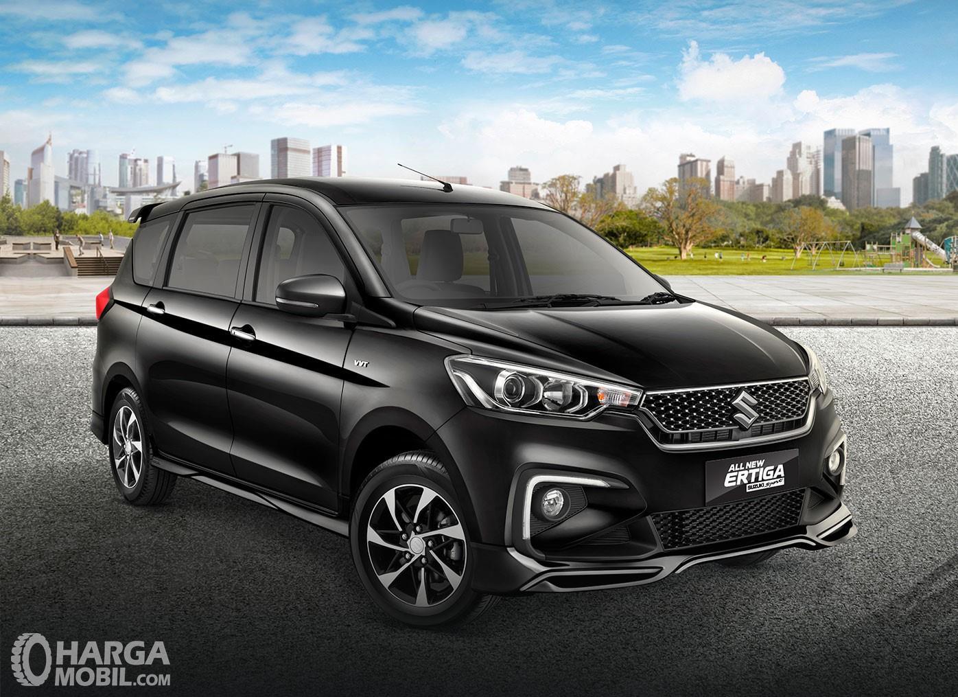 Tampilan samping depan All New Ertiga Suzuki Sport  2019 yang sangat menggoda