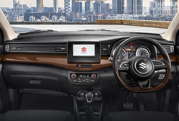 Foto Dashboard dan setir All New Ertiga Suzuki Sport 2019