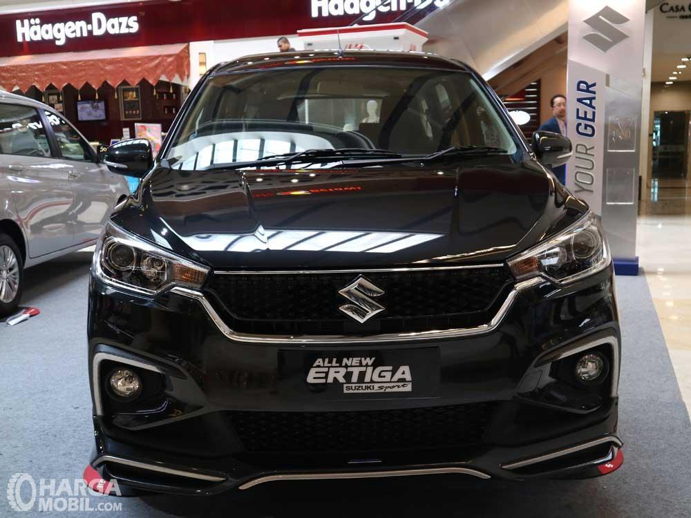 Foto All New Ertiga Suzuki Sport 2019 tampak dari depan