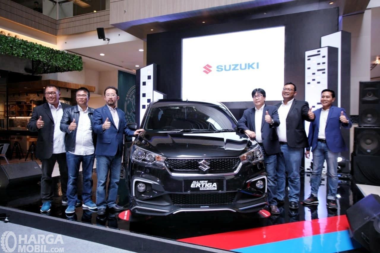 Foto saat Peluncuran All New Ertiga Suzuki Sport 2019 di Jakarta