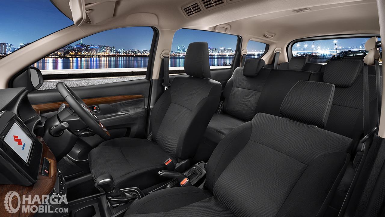 Foto kabin All New Ertiga Suzuki Sport 2019 yang tampak lega