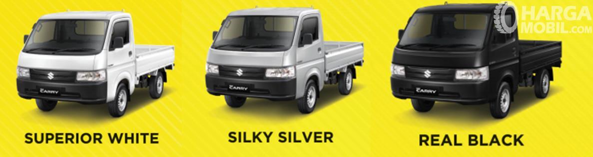 Pilihan Warna Suzuki Carry Pick Up 2019 menyediakan tiga opsi menarik