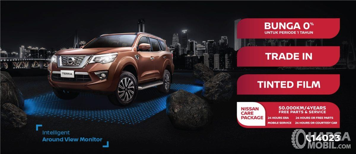 Promo Nissan Terra terbaru hadirkan beberapa paket pembiayaan menarik