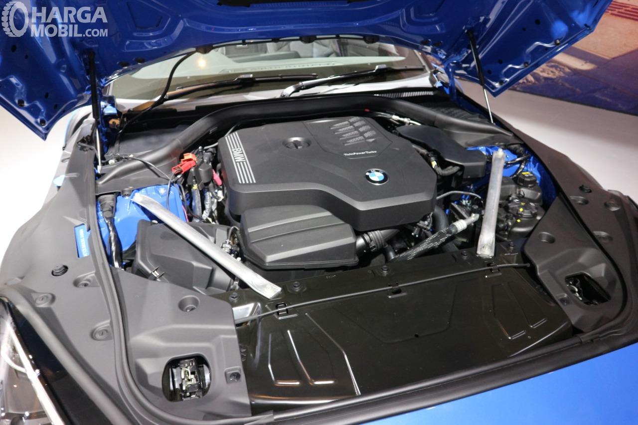 Gambar menunjukkan desain bagian Mesin All New BMW Z4