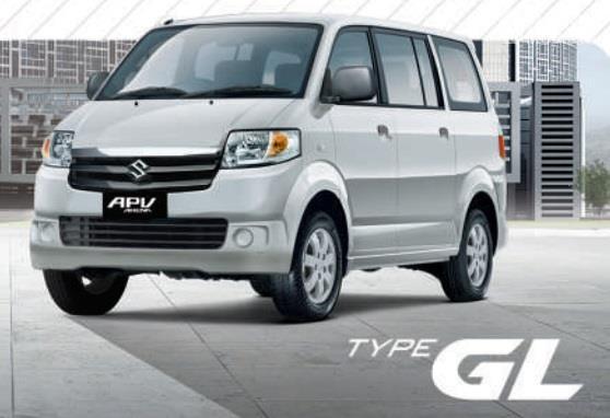 Suzuki APV GL menerapkan desain Grille beraksen krom