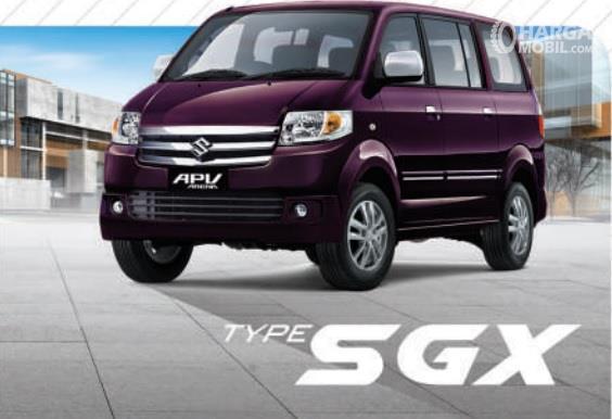Suzuki APV SGX berdiri sebagai varian tertinggi