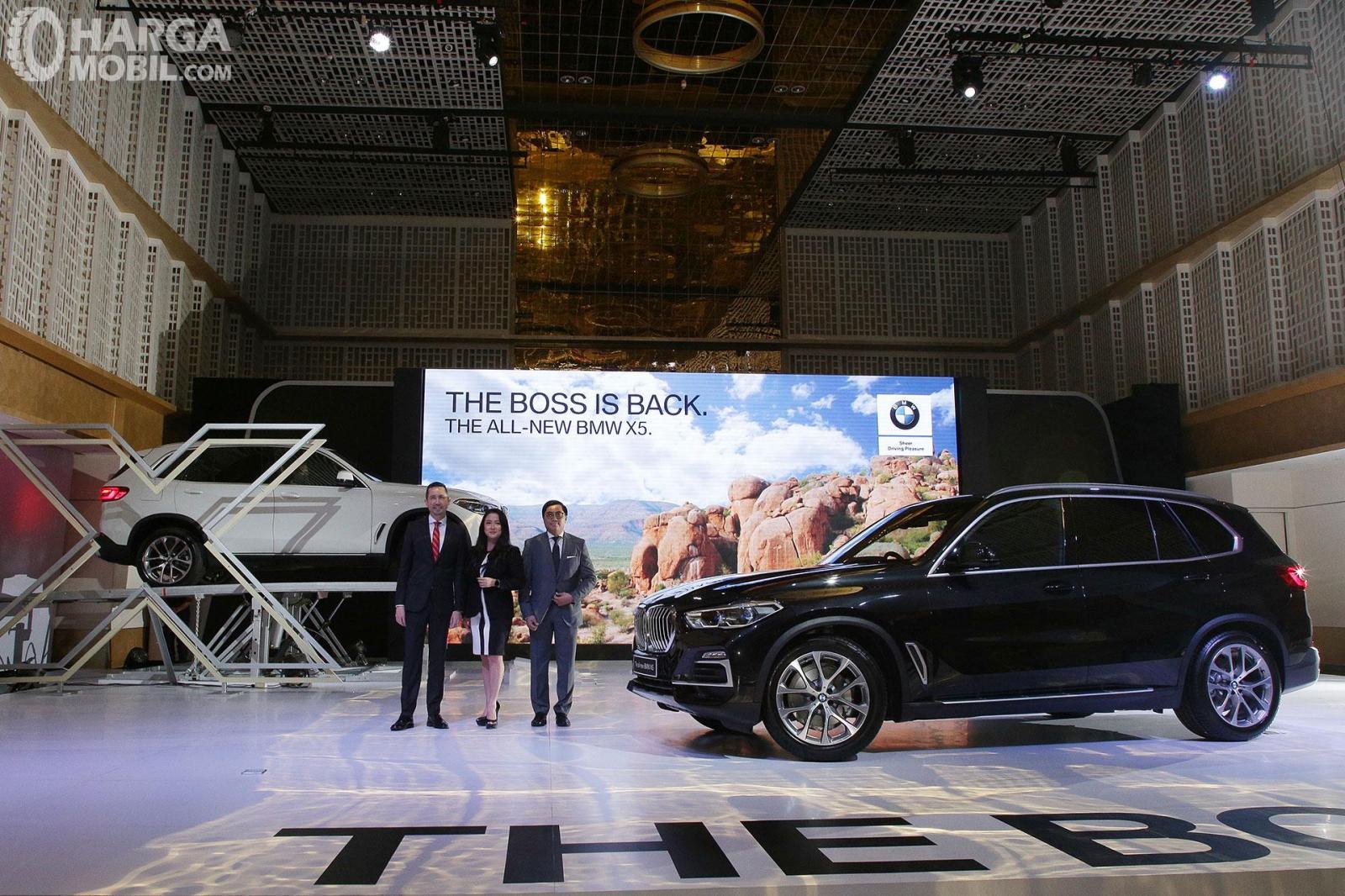 Gambar menunjukkan Peluncuran All-New BMW X5 di pasar Indonesia