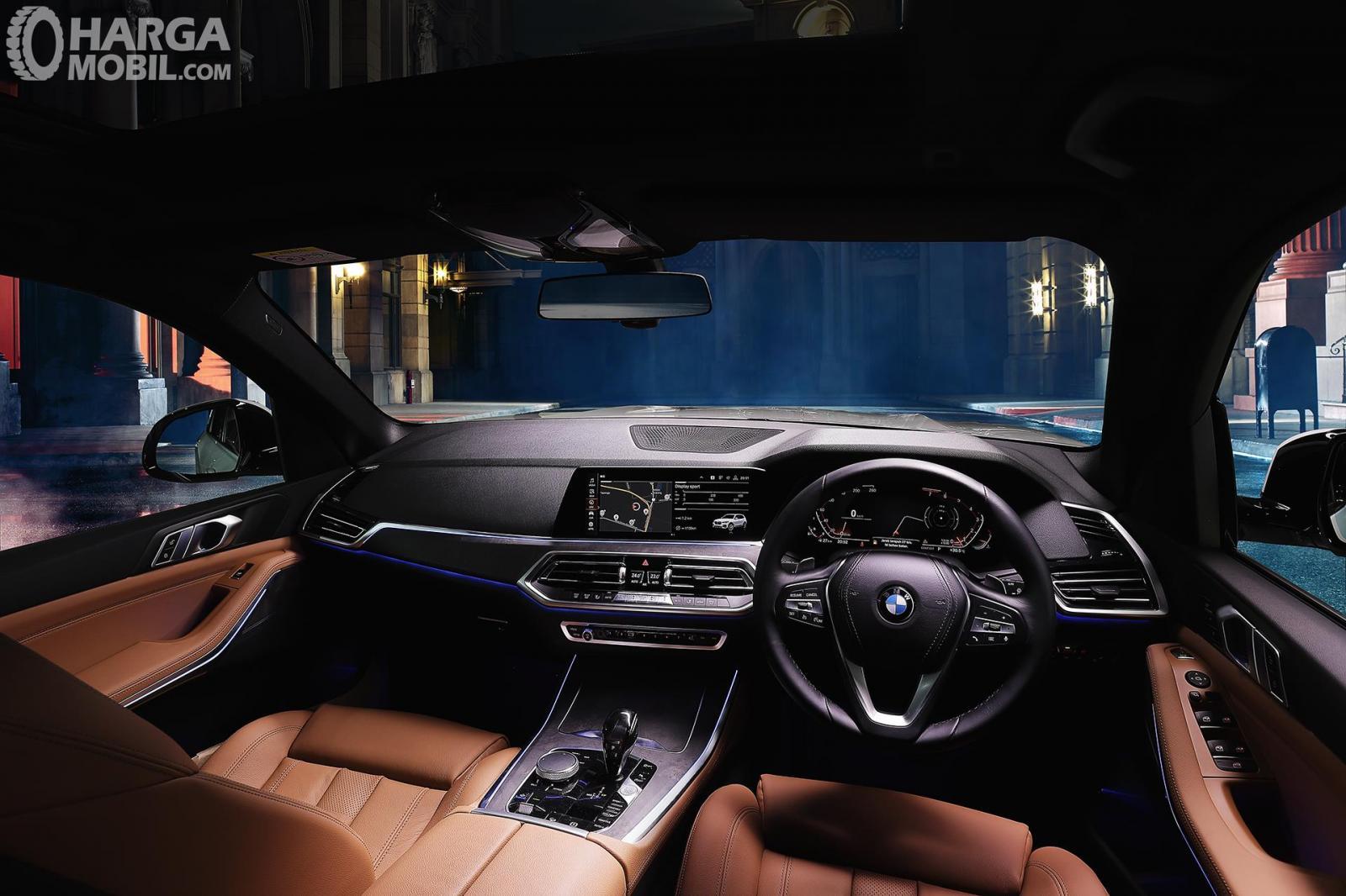 foto interior All-New BMW X5 bernuansa mewah