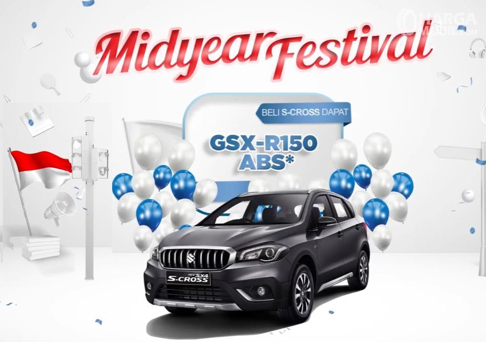 Promo Midyear Festival, beli Suzuki SX4 S-CROSS dapat Suzuki GSX-R150