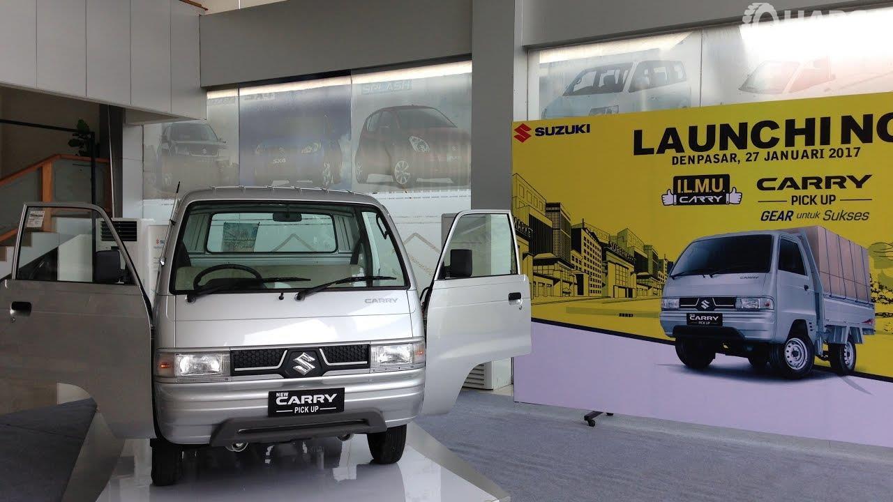 Foto menunjukkan Suzuki Carry 2017 saat diluncurkan