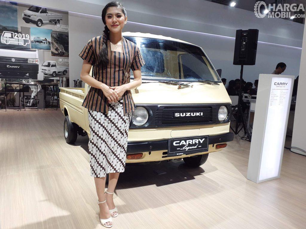 Foto menunjukkan Suzuki Carry ST20 Tahun 1981 di pameran IIMS 2019