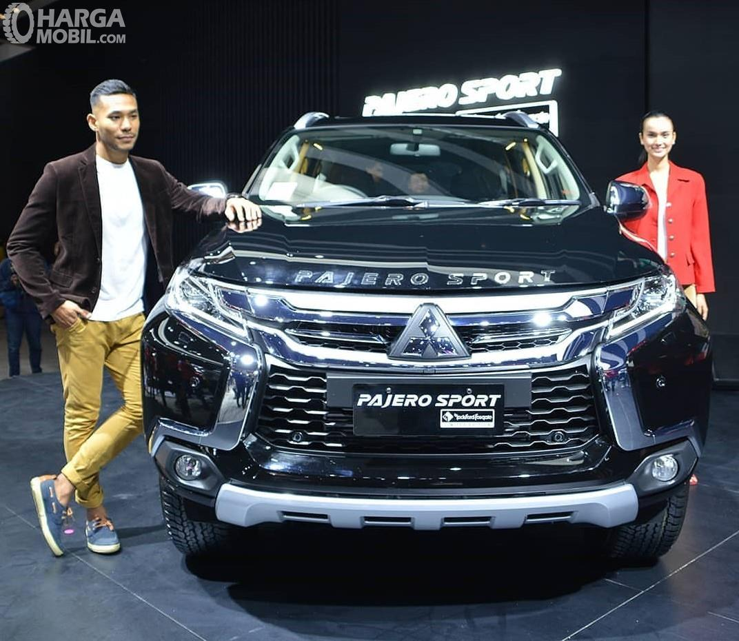 Foto bagian depan Mitsubishi Pajero Sport RF Limited Edition 2018