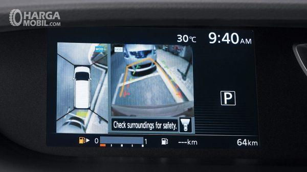 Tampilan gambar Kamera 360 Nissan Serena Highway Star 2019