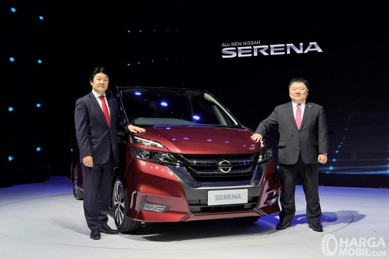 Foto Nissan Serena Highway Star 2019 saat diluncurkan 19 Februari 2019