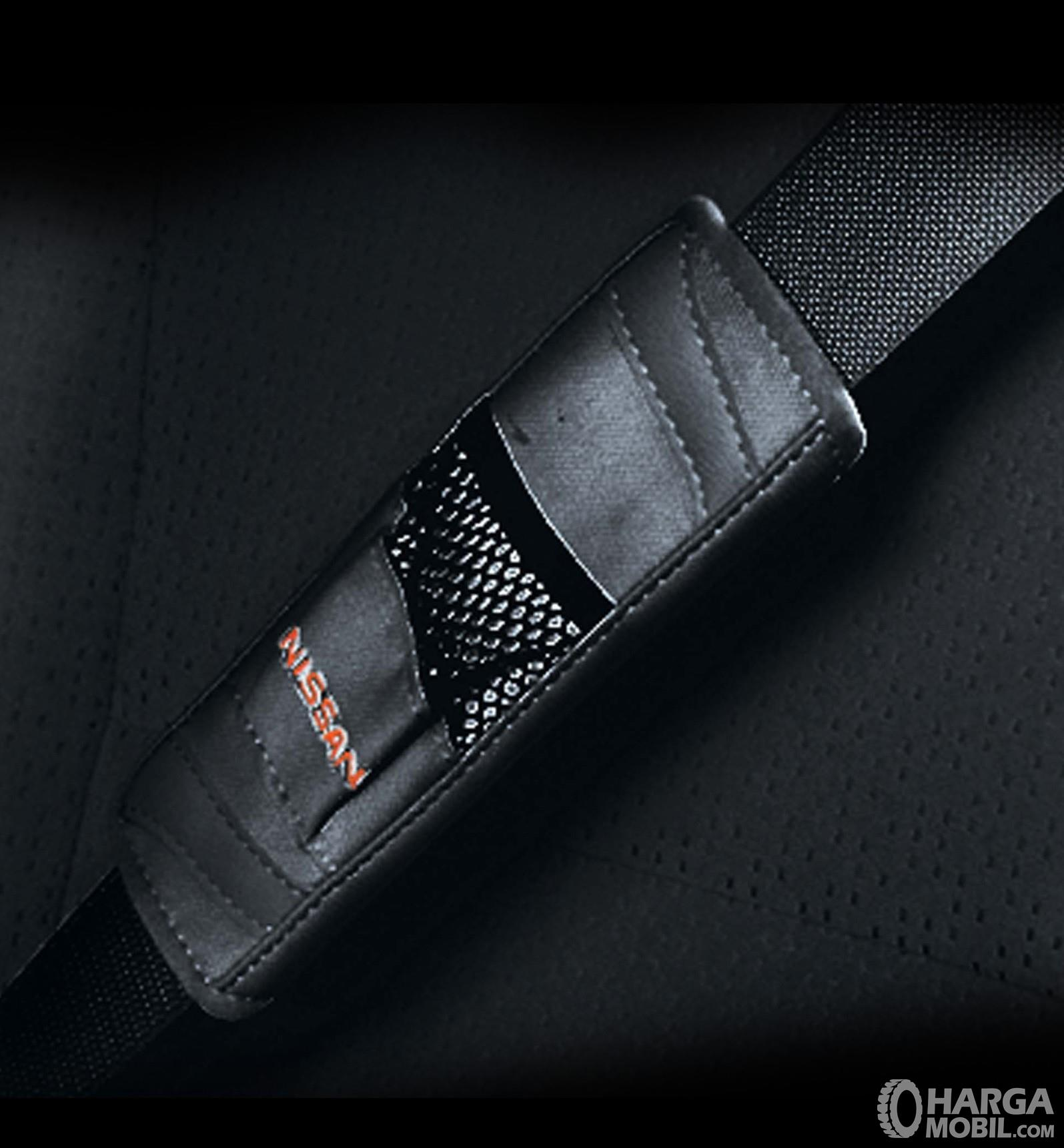 Foto menunjukkan Seatbelt Nissan Serena Highway Star 2019