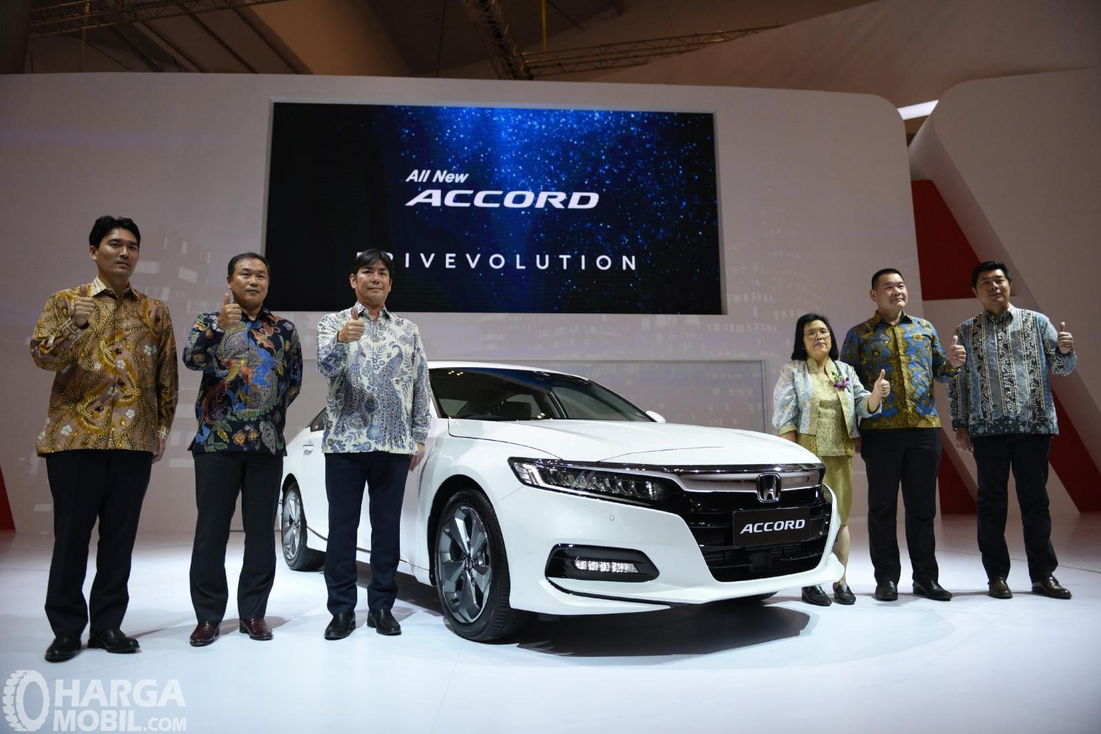 Debut Honda Accord 2019 di GIIAS 2019