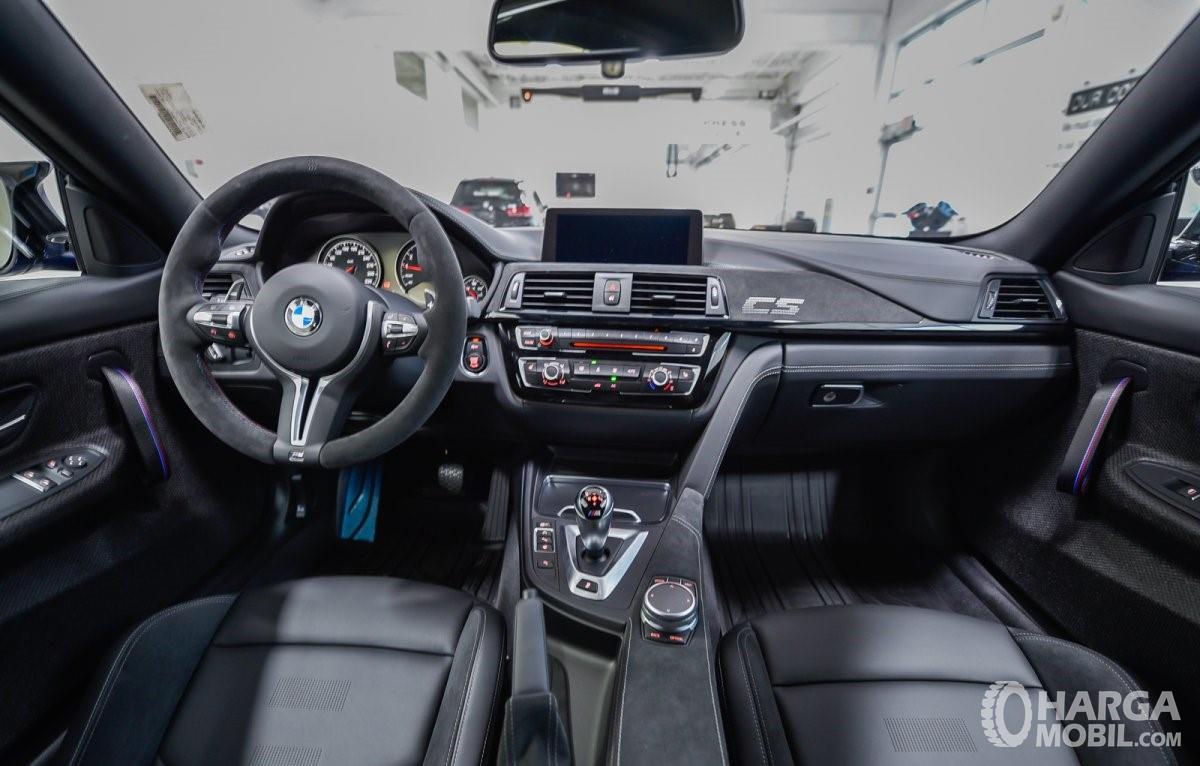 Foto dashboard dan setir New BMW M4 CS RWD Coupe 2019