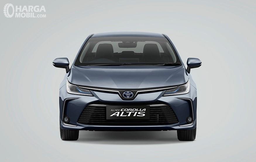 Foto All New Toyota Corolla Altis Hybrid 2019 tampak dari depan