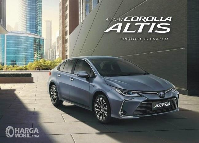 Banner All New Toyota Corolla Altis Hybrid 2019