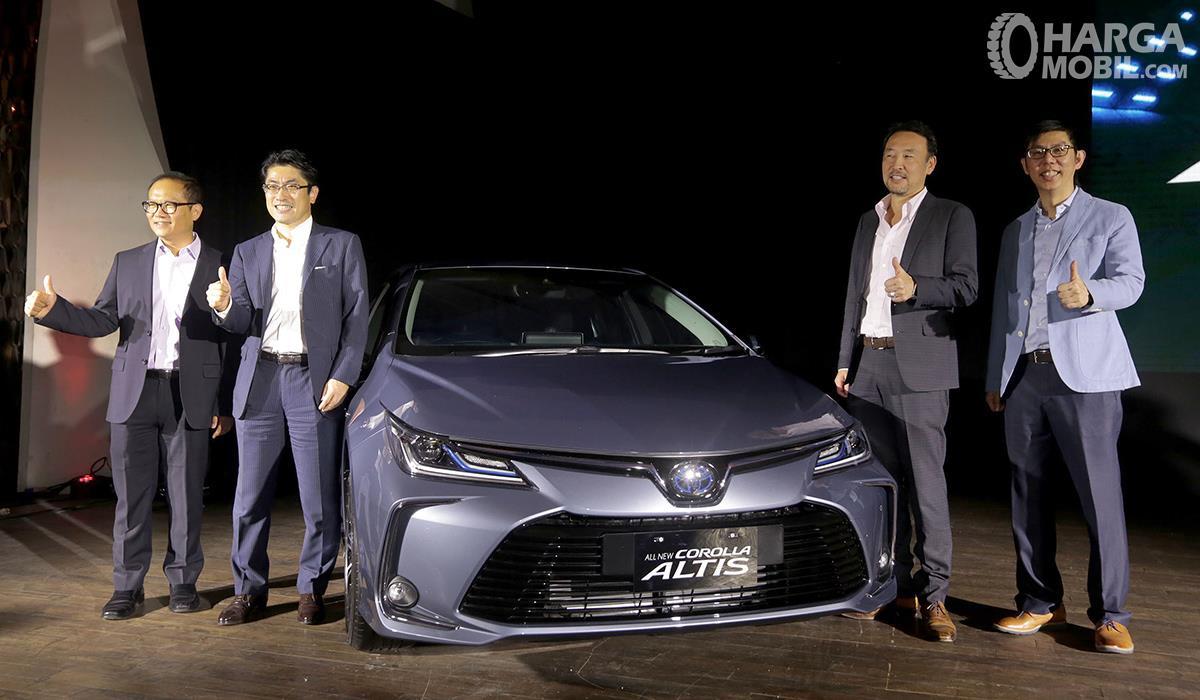 Foto All New Toyota Corolla Altis Hybrid saat diluncurkan