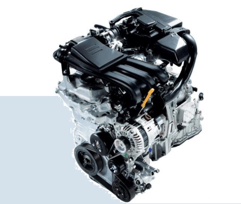 Gambar ini menunjukkan mesin Datsun GO+ Panca CVT 2019