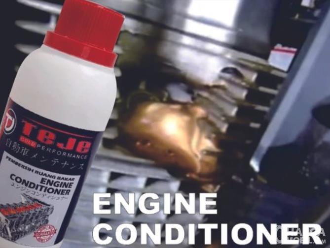 Gambar ini menunjukkan cairang engine conditioner