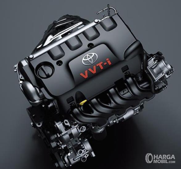 Gambar ini menunjukkan mesin VVT-i pada mobil Toyota