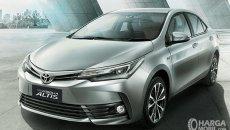 Daftar Harga Toyota Corolla Altis: Mobil Sedan Dengan Desain Modern