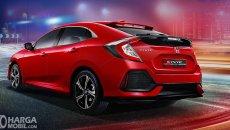 Daftar Harga  Honda Civic Hatchback Turbo: Hatchback Penakluk Segala Tantangan