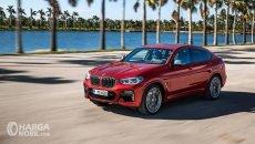 Daftar Harga BMW X4 2019: Desain Radikal, Tegaskan Inilah Kendaraan Urban