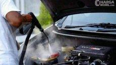 Pakai Uap, Cobalah Cuci Mobil Sauna Buat Mobil Kembali Kinclong
