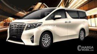 Review Toyota Alphard Hybrid 2017, Harga Dan Spesifikasi Lengkap