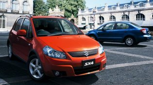 Review Suzuki SX4 X-Over 2007