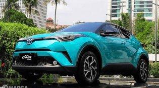Review Toyota C-HR Hybrid 2019 : Mobil SUV Medium Canggih Harga Terjangkau