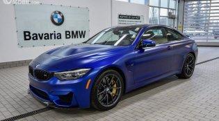 Review New BMW M4 CS RWD Coupé 2019 : Sedan Sport Berperforma Tinggi dan Berkelas