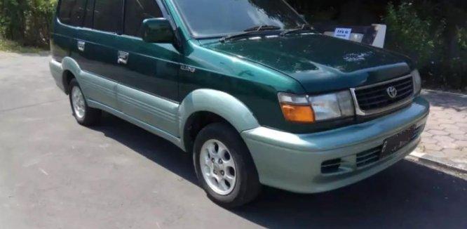 Review Toyota Kijang Krista 1997 : Generasi Keempat Kijang Yang Tidak Lagi Mengotak