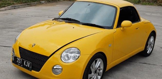 Review Daihatsu Copen 2003 : Mobil Mungil Banyak Kelebihan