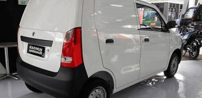 Review Suzuki Karimun Wagon R Blind Van 2015 : Mobil Blind Van Yang Tidak Membosankan